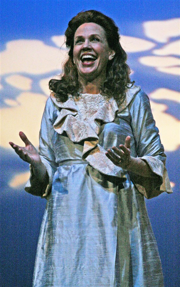Deborah Jean Templin in the Tony-winning musical Titanic